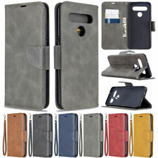 For LG K61 K51 Q60 Stylo 5 Luxury Leather Book Case Flip Cards Slot Wallet Cover