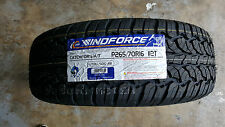 265/70R16 112T Windforce AT All Terrain with white wall 2657016
