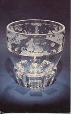 Alte Kunstpostkarte -  Steuben Glas