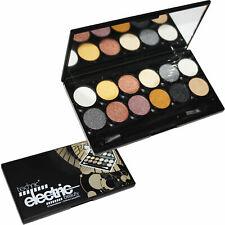 Technic Electric Beauty 12 Metalix Eyeshadow Palette Kit Nude Eye Colour Shimmer