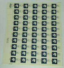 1961-1971 Antarctic Treaty 8 Cent Sheet of 50 Mint