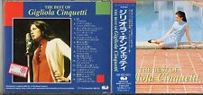 GIGLIOLA CINQUETTI CD THE BEST OF made in JAPAN 1993 + OBI