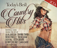 CD Best Country Hits of today de various artists 3cds