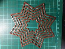 Stars Nest Cutting Die For Sizzix Spellbinders Ect.Machine