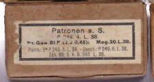 WWII:Patronenschachtel:8 x 57 s.S. P 249 4 L 38