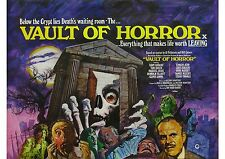 Vault of Horror - Terry Thomas - Tom Baker - A4 Laminated Movie Poster