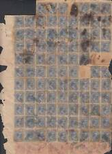 1891-UF-4 (LG231) SPAIN COLONIES. ALFONSO XIII. 1891 20c REVENUE USE IN SANTIAGO