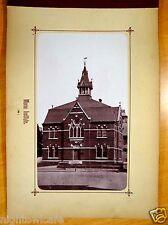 MORSE INSTITUTE LIBRARY Natick MA Antique Photograph 1880's rare image