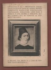 Catalogo Asta Battistelli N.68+Milano 1908-IMPORTANTE COLLEZIONE.Dipinti-Libri