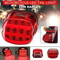 Red LED Rear Tail Light Brake for Harley Road King Dyna Glide Softail Sportster