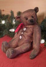 """Gusto - 13"""" Mohair Artist Teddy Bear ~ by Rita Diesing of Ridibears OOAK"""