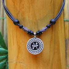 Sternzeichen Halskette FISCHE Pisces verstellbar Kette Surferkette Astrologie
