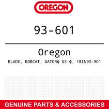 """Oregon 93-601 18"""" G3 Gator Toothed Mulching Blades Bobcat John Deere 36"""" 3-PACK"""
