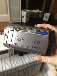 JVC Everio Camcorder GZMG330 Hard Drive 30GB Box Bag Instructions Lead Charger