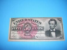 50 cents Abraham Lincoln U.S. Fractional