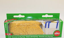 SIKU 5595 Paquete de accesorios Gránulos AMARILLO CON Big bag 1 :3 2