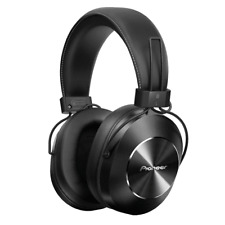 Pioneer SE-MS7BT retro inspired Bluetooth Headphones in Black