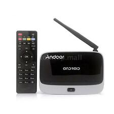 CS918 Android4.4 Smart TV BOX Quad Core 2/32GB WIFI Bluetooth 1080P Media Player