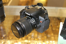 Canon EOS Rebel T4i / EOS 650D 18.0MP DSLR With18-55mm Lens (2 LENSES)