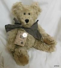 Vintage Boyds Mohair Woodrow T Bearington Teddy Bear 1999 with Tags