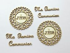 DIE CUT - CHIPBOARD - Ma Premiere Communion lot 2 - hôte, decoration, die cuts