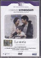 2 Dvd Box Sceneggiati Rai LA STORIA di Comencini con C.Cardinale completa 1986