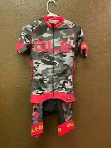 Alé Cycling PRR Camo Kit - Pink/Gray - Women's Small