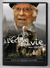 RARE DVD / A L'ECOLE DE MA VIE - JEAN ANGLADE / COMME NEUF