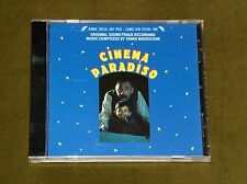 Cinema Paradiso Ennio Morricone Cd Ost Original Soundtrack Ltd Usa Drg Press New