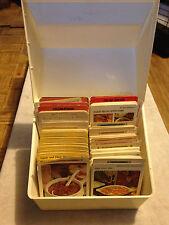 Vintage 1971/75 Betty Crocker Recipe Card Library w/ Case