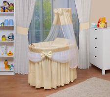 Waldin BABY Passeggino, Culla per neonato, completo con accessori, XXL GIALLO /