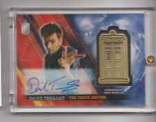 Doctor Who Timeless David Tennant Autograph Medallion Trading Card #02/10