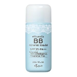 Ettusais Mineral BB Liquid SPF35 PA++ 30ml natural beige Shiseido