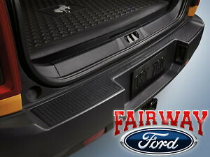 2021 Bronco Sport OEM Genuine Ford Parts Black Rear Bumper Protector