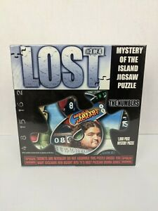 """LOST Mystery Of The Island 1000 Piece Puzzle #3 of 4 """"The Numbers"""" New Sealed"""