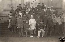 8227/ Originalfoto 9x13cm, Lazarett, Verwundete, Amputation, 1915