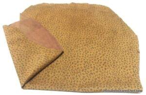 Lot of 2 Pig Skin Hides w/ Branded Design Home Decor Horse Tack