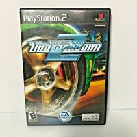 Play Station 2 Need for Speed Underground 2 with Manual