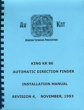 KING KR 86  ADF  INSTALLATION MANUAL