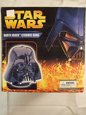 Star Wars Ceramic Darth Vader Bank Unopened