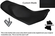 BLACK STITCH CUSTOM FITS KTM 690 DUKE 07-11 DUAL LEATHER SEAT COVER