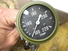 Jeep Willys MB Ford GPW Reproduction Temperature Gauge Temp Engine G-503