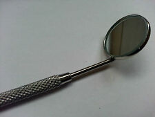 1 X PLAIN SURFACE DENTAL MIRROR WITH HANDLE GERMAN STEEL TOP UK SUPPLIER- SIZE 3