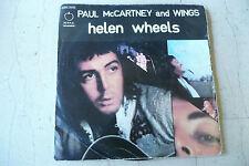 "PAUL McCARTNEY&WINGS(BEATLES)""HELEN WHEELS-disco 45 giri APPLE Italy 1973"""
