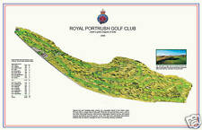 Royal Portrush Golf Club -1888 H.S.Colt - a VintageGolfCourseMap