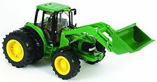 BRAND NEW BRITAINS BIG FARM JOHN DEERE 6830 PREMIUM TRACTOR WITH LIGHTS & SOUNDS