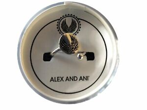 Alex and Ani Guardian Angel Ring Wrap Shiny Silver NWTBC