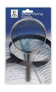 Easy to Read Magnifying Glass   Eye sight Protection Work 10x Magnifier Glass