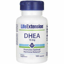 ****Life Extension DHEA 15 mg 100 Capsules****