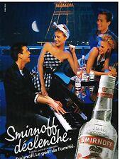Publicité Advertising 1986 Vodka Smirnoff